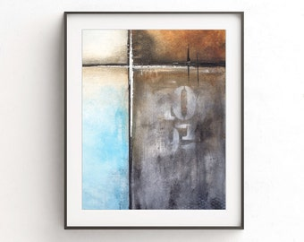Abstract print digital download printable wall decor art print numbers abstract painting modern home decor design contemporary artwork