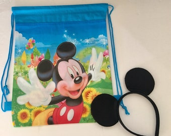 Mickey Mouse Party Favors, Mickey Mouse Party favor Bags, Mickey Mouse Bags Party Favors, Disney Trip, Disney Vacation, Mickey