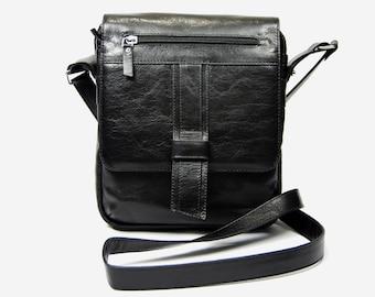 Handmade leather messenger bag, Leather cross body bag, Leather handbag for men,Men's handbags, leather messenger bag. Men's leather bag( 53