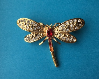 Little Dragonfly Brooch