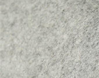 Heather Gray- Merino Wool Felt