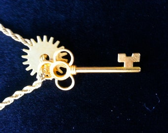 """With it's rugged looks you will have """"The key to Time! 14k gold over 316 SS will not discolor or corrode!"""