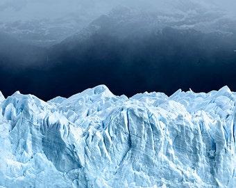 Perito Moreno Glacier matted fine art archival print