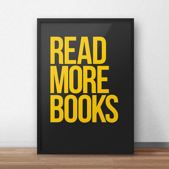 Read More Books | Digital Download | Fine Art Print