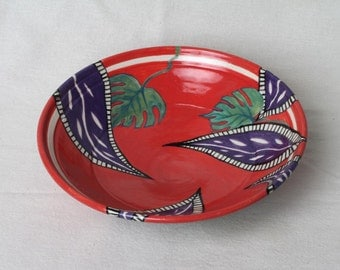 Decorative bowl, ceramic bowl, gifts under 25