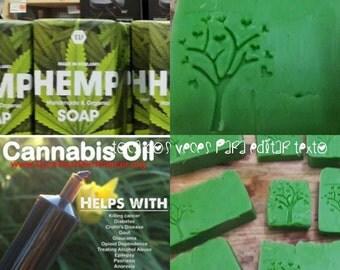 Hemp Seed oil soap. #hempsoap