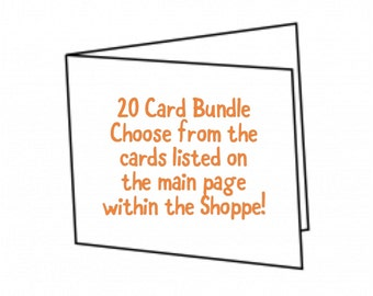 20 Card Bundle Package