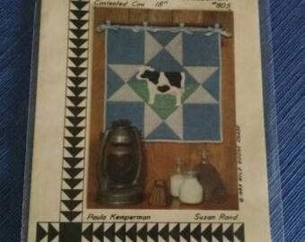 Vintage 1983 Sampler pattern #805 Contented Cow