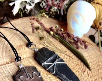 Slate Necklace Pendants