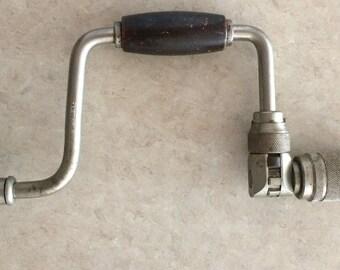 Vintage Tool // Ratcheting Brace // Stanley 965N - 8