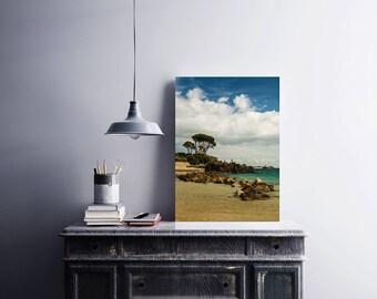 Photographic Print:  Fun on the Rocks - Green Island, Jersey