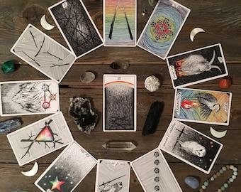 Your Year Ahead Spread - 13 Card Holistic Tarot Reading