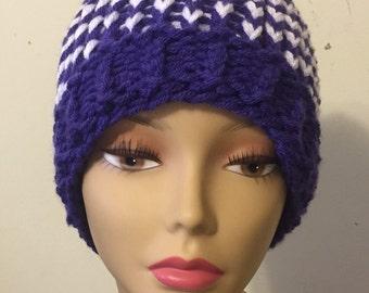 Multicolored Sloppy Bun Hat
