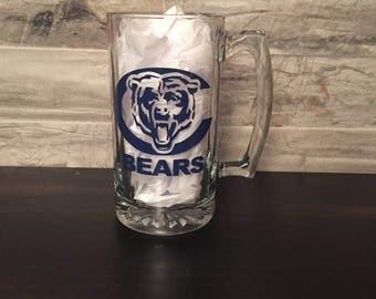 Chicago Bears Beer Mug