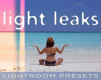 Light Leak Lightroom Presets - 37 Professional Light Leak (Stray Light) Presets - Adobe Lightroom 4, 5, 6 and CC