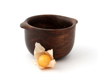 Tiny walnut bowl