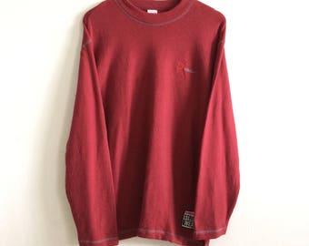 Vintage Vision Street Wear Shirt Hip Hop Spellout Big Logo