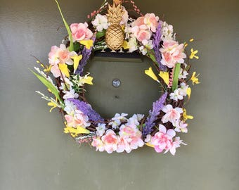 Spring Blossoms Wreath