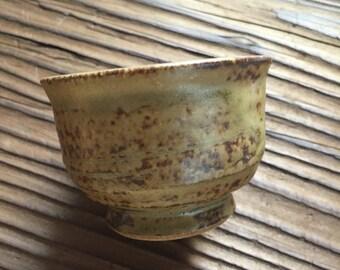 japanese vintage sake cup, guinomi, shot glass