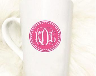 Custom Monogram Mug//Gift