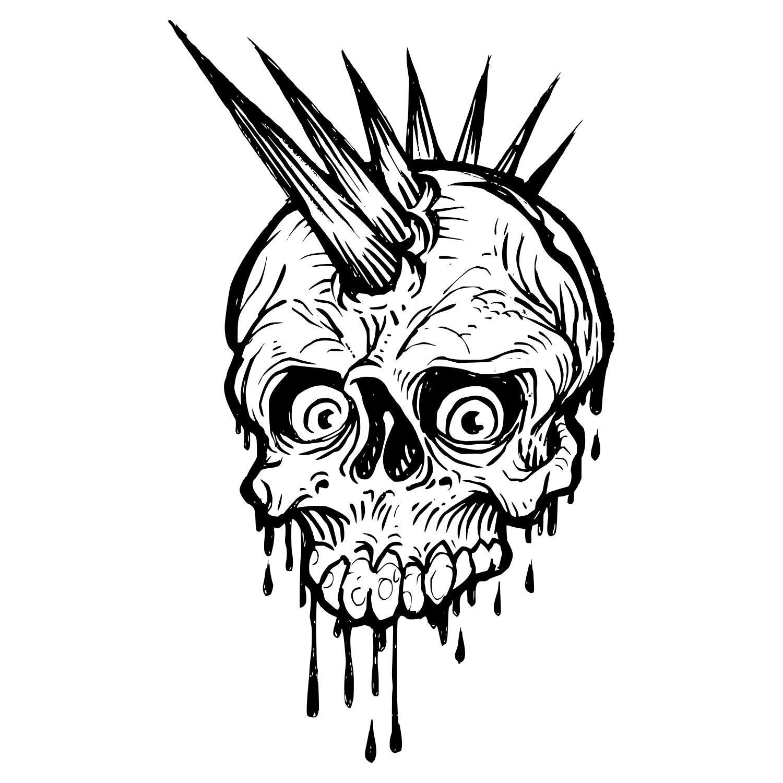 Download Skull SVG Cut files for Cricut Silhouette downloads Vinyl cut