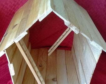 Open barn house