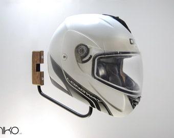 Wall Helmet Rack