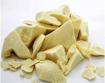 50 g Pure Unrefined Raw Cocoa Butter