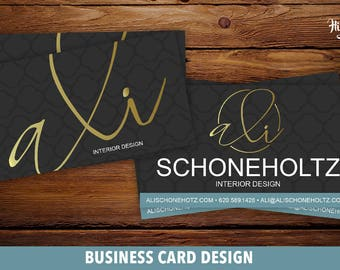Custom Business Card Design - Business cards