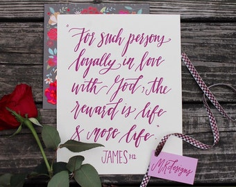 Art Print - James 1:12