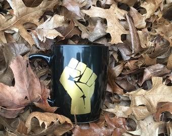 Black Power Mug