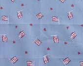 American Flag Fabric - Fourth of July Fabric - Flag Fat Quarter - Patriotic Fabric - 4th of July Quilt Fabric - American Fat Quarter - USA