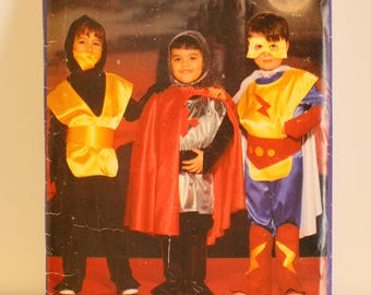 Butterick 5660 superhero costume youth sizes 2-8