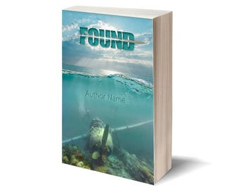 Found - Personalized Book Cover / Publish Yourself! / Digital art - cover illustration / Gift: cover for Facebook.