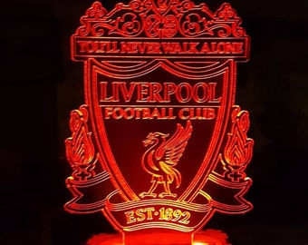Liverpool Acrylic led lamp plan