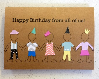 Happy Birthday from all of us - Birthday Card