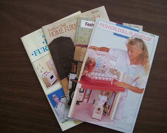Plastic Canvas Pattern Fashion Doll Plastic Canvas Pattern Playhouse Home Furnishings Arts And Crafts Toy Projects Dollhouse Furniture