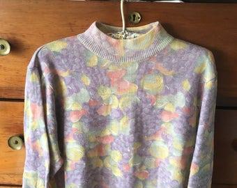 Vintage 80's sweater cute