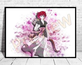Yona Anime Poster, Top Quality Poster, Anime Watercolor, Anime Print, Canvas,Buy any 2 get 3rd FREE,Naruto Poster, SAO, AG63