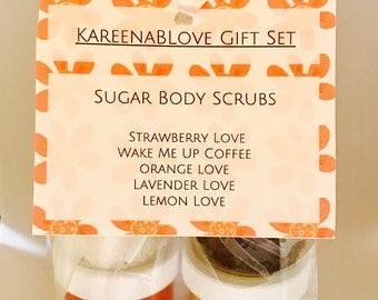 Sugar Body Scrub Gift Set
