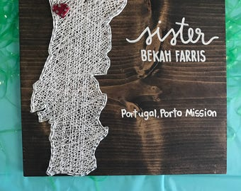 Missionary String Art