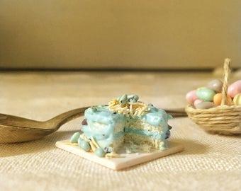 Miniature spring cake