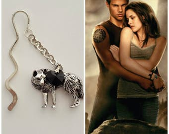 "Twilight inspired ""Team Jacob"" bookmark"