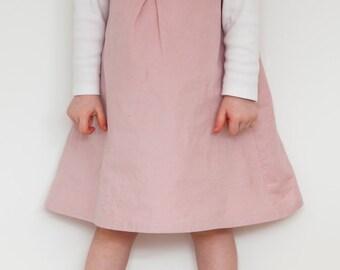 Darcie pinafore dress