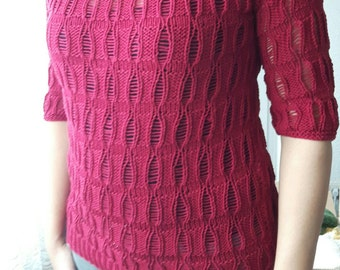 Knitted sweater gr. 38
