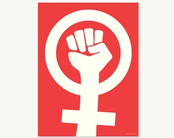 Women's March Protest Poster / Resistance Poster