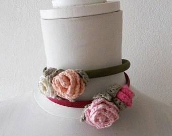 Hairband Romantic Roses for Girls