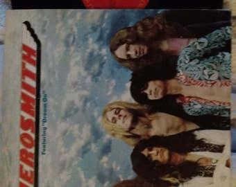 Aerosmith 1973 Vinyl Record. Original VG Condition.