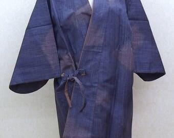 Blue Haori coat Japanese traditional