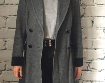 Vintage 60's Grey Overcoat Mark Russell